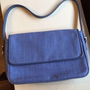 Blue Liz Claiborne pocketbook